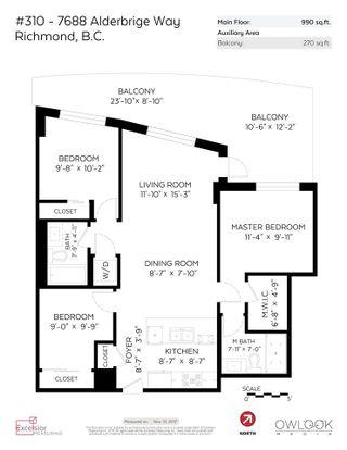 """Photo 20: 310A 7688 ALDERBRIDGE Way in Richmond: Brighouse Condo for sale in """"TEMPO"""" : MLS®# R2223606"""