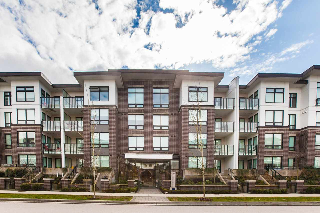 Photo 2: Photos: 418 9388 ODLIN Road in Richmond: West Cambie Condo for sale : MLS®# R2249455