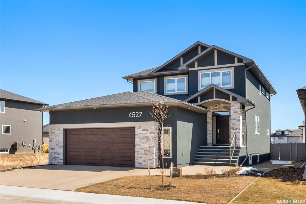 Main Photo: 4527 Chuka Drive in Regina: The Creeks Residential for sale : MLS®# SK851102