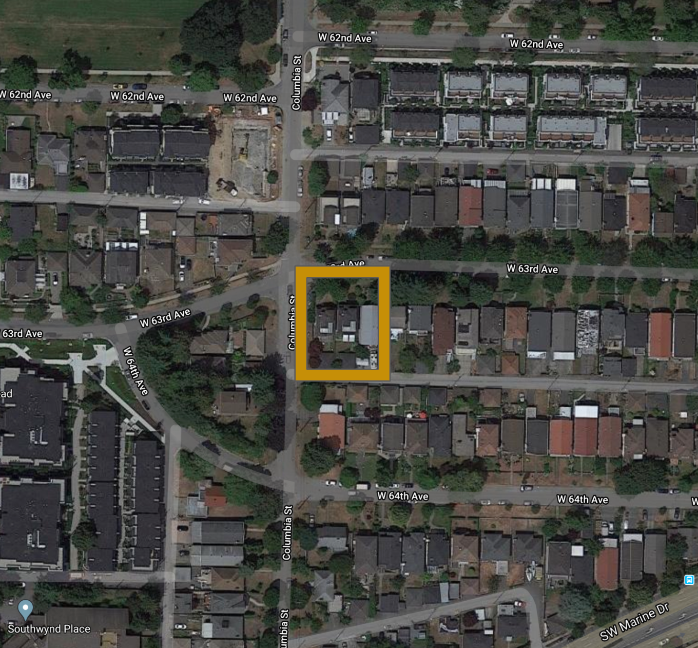 Main Photo: 292 W 63rd Avenue in Vancouver: Marpole Land Commercial for sale (Vancouver West)