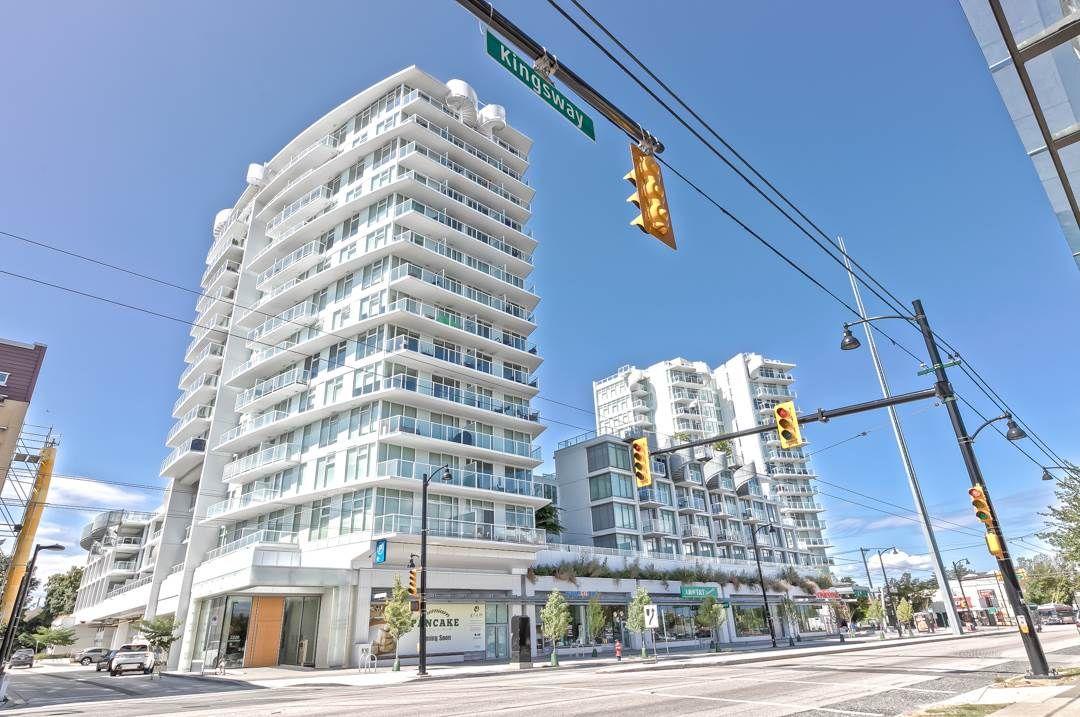 "Main Photo: 611 2220 KINGSWAY Street in Vancouver: Victoria VE Condo for sale in ""KENSINGTON GARDEN"" (Vancouver East)  : MLS®# R2499248"