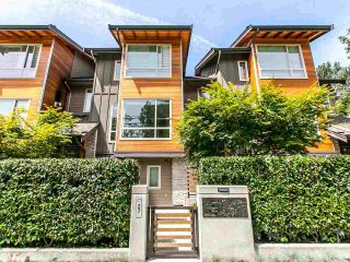 """Photo 1: 27 897 PREMIER Street in North Vancouver: Lynnmour Townhouse for sale in """"Legacy @ Nature's Edge"""" : MLS®# R2077735"""