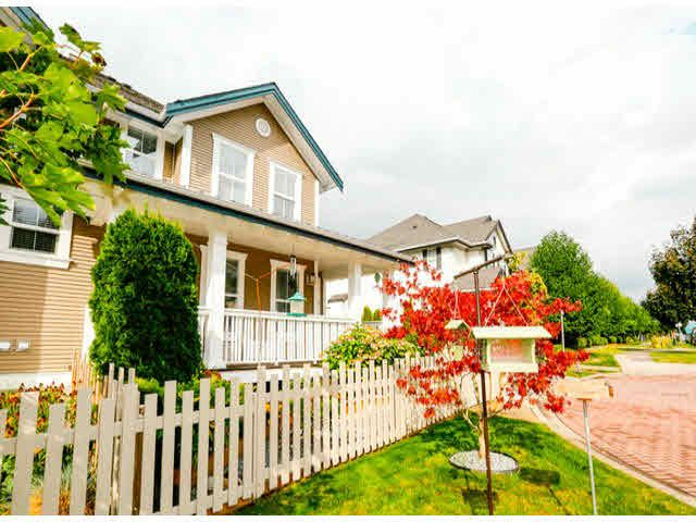 "Main Photo: 4 6919 180TH Street in Surrey: Cloverdale BC Townhouse for sale in ""PROVIDENCE"" (Cloverdale)  : MLS®# F1423777"