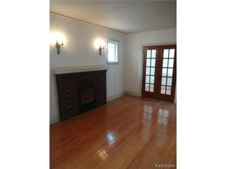 Photo 3: 815 Sherburn Street in WINNIPEG: West End / Wolseley Residential for sale (West Winnipeg)  : MLS®# 1503759