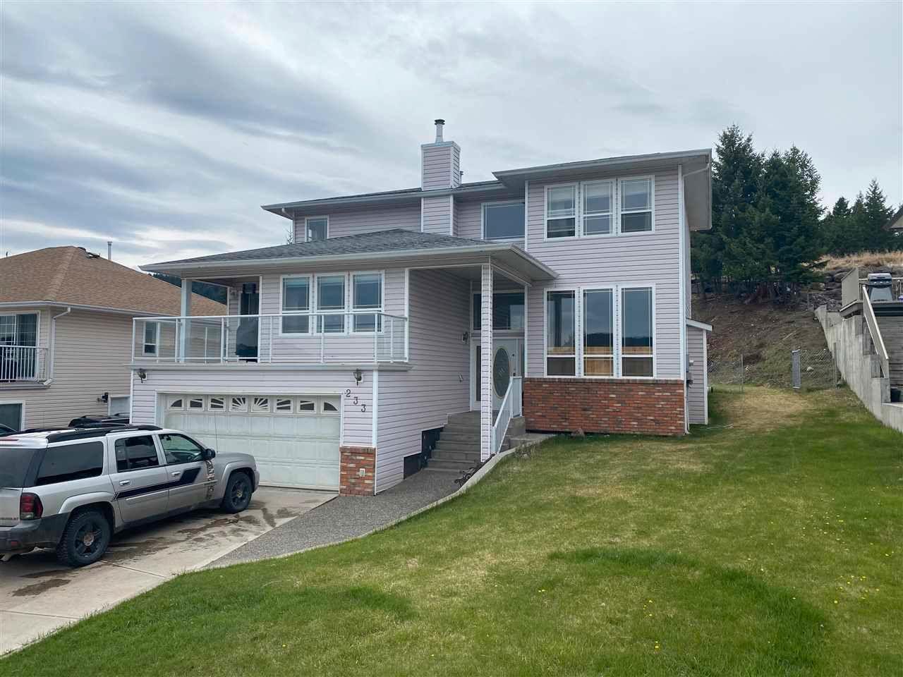 Main Photo: 233 WESTRIDGE Drive in Williams Lake: Williams Lake - City House for sale (Williams Lake (Zone 27))  : MLS®# R2575621