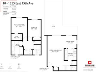 Photo 20: 10 1255 E 15TH Avenue in Vancouver: Mount Pleasant VE Townhouse for sale (Vancouver East)  : MLS®# R2599314