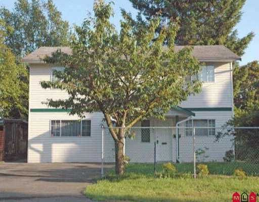 Main Photo: 33598 8TH AV in Mission: Mission BC House for sale : MLS®# F2611124