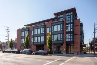 """Photo 1: 203 2008 E 54TH Avenue in Vancouver: Fraserview VE Condo for sale in """"Cedar 54"""" (Vancouver East)  : MLS®# R2339394"""