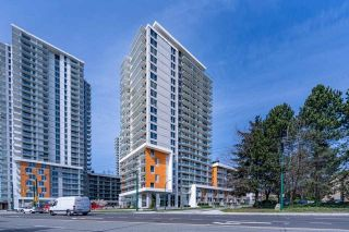 """Photo 1: 2301 433 SW MARINE Drive in Vancouver: Marpole Condo for sale in """"W1 EAST TOWER"""" (Vancouver West)  : MLS®# R2577419"""