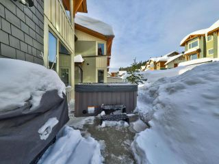 Photo 13: 10 5025 VALLEY DRIVE in Kamloops: Sun Peaks Townhouse for sale : MLS®# 160408