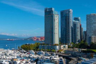 """Photo 2: 607 323 JERVIS Street in Vancouver: Coal Harbour Condo for sale in """"ESCALA"""" (Vancouver West)  : MLS®# R2593868"""