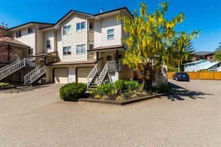 """Photo 1: 1 5352 VEDDER Road in Chilliwack: Vedder S Watson-Promontory Townhouse for sale in """"Mount View Properties"""" (Sardis)  : MLS®# R2580544"""