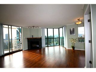 """Photo 3: 1505 1199 EASTWOOD Street in Coquitlam: North Coquitlam Condo for sale in """"Silkerk"""" : MLS®# V1088798"""