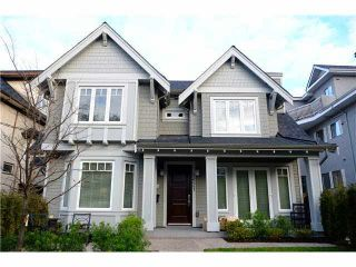 Photo 1: 2619 W 1ST Avenue in Vancouver: Kitsilano Townhouse  (Vancouver West)  : MLS®# V1125948