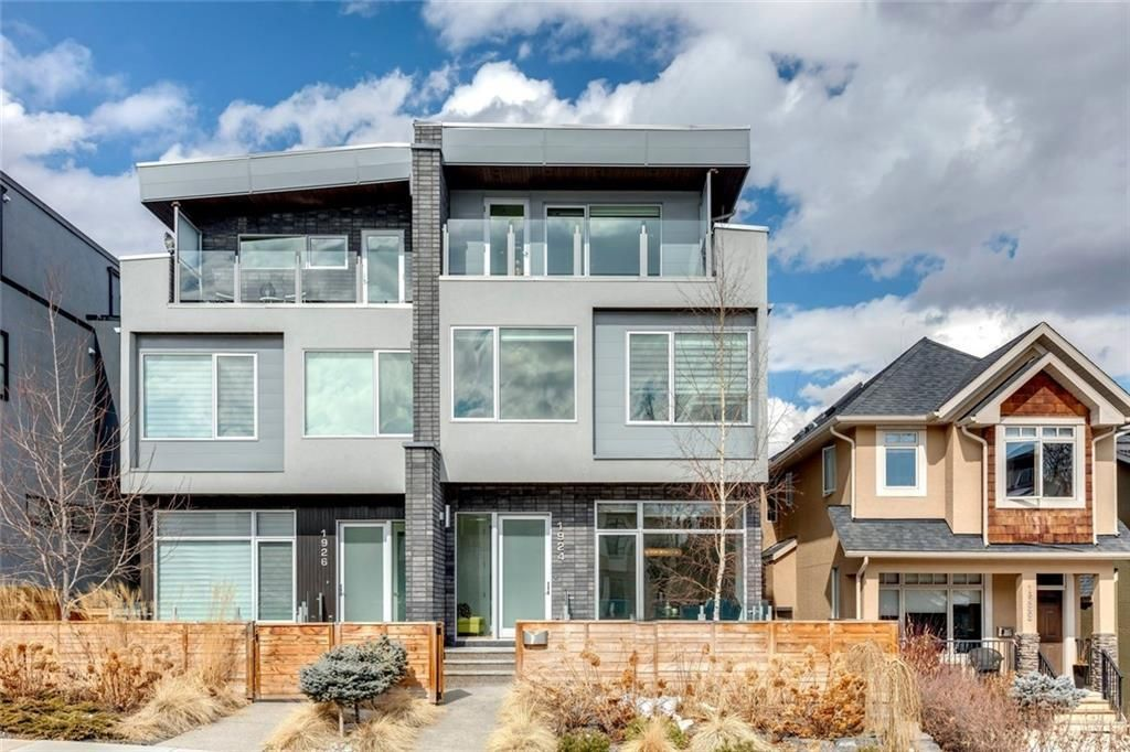 Main Photo: 1924 27 Avenue SW in Calgary: South Calgary Semi Detached for sale : MLS®# A1097873