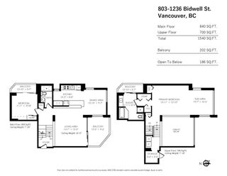 """Photo 40: 803 1236 BIDWELL Street in Vancouver: West End VW Condo for sale in """"Alexandra Park"""" (Vancouver West)  : MLS®# R2617770"""