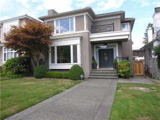 Photo 1: 2951 22ND AVENUE in Vancouver West: Arbutus Home for sale ()  : MLS®# V1138737
