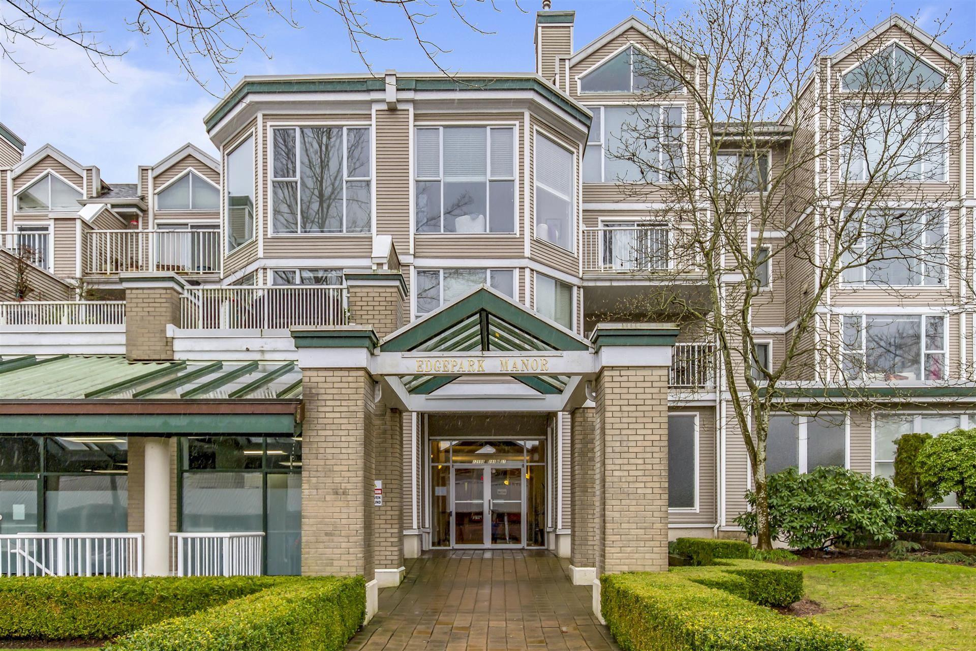 "Main Photo: 209 12155 191B Street in Pitt Meadows: Central Meadows Condo for sale in ""Edgepark Manor"" : MLS®# R2516213"