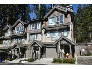"""Photo 1: 144 1460 SOUTHVIEW Street in Coquitlam: Burke Mountain Townhouse for sale in """"CEDAR CREEK"""" : MLS®# V1049640"""