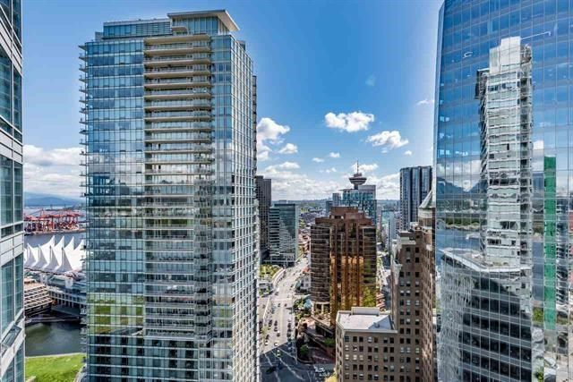 "Main Photo: 3806 1077 W CORDOVA Street in Vancouver: Coal Harbour Condo for sale in ""SHAW TOWER- COAL HARBOUR, WATERFRONT"" (Vancouver West)  : MLS®# R2235972"
