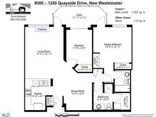 "Photo 2: 305 1250 QUAYSIDE Drive in New Westminster: Quay Condo for sale in ""THE PROMENADE"" : MLS®# V1039100"