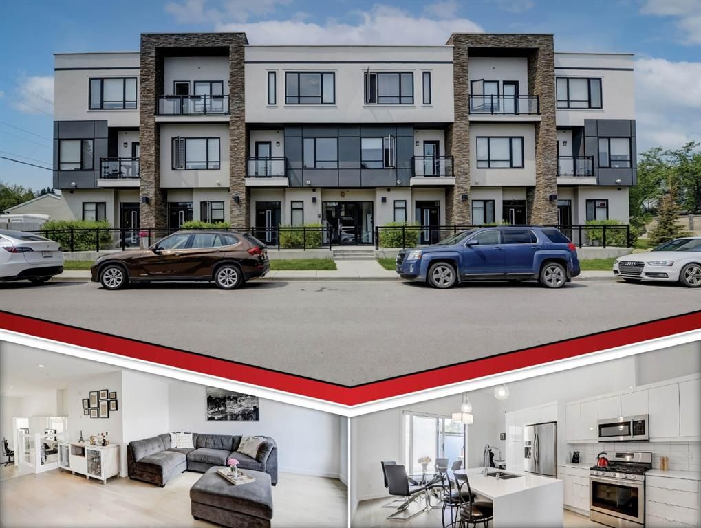 Main Photo: 109 15 Rosscarrock Gate SW in Calgary: Rosscarrock Row/Townhouse for sale : MLS®# A1130892