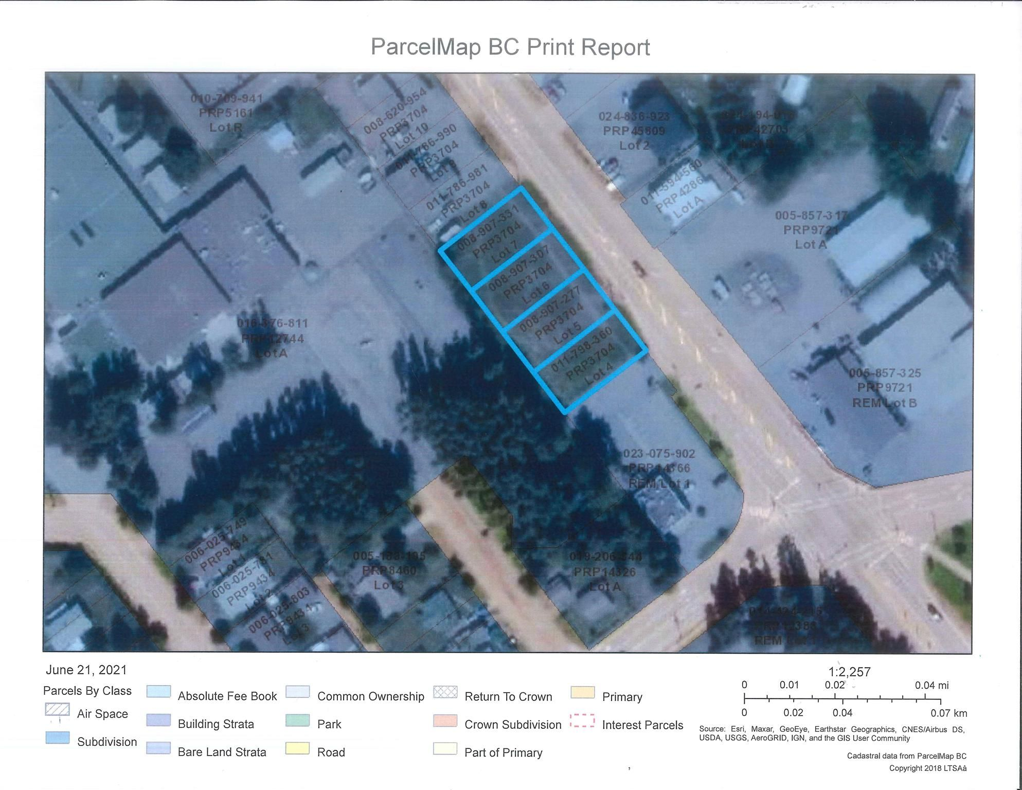 Main Photo: LOT 4-7 W 16 Highway in Smithers: Smithers - Town Land Commercial for sale (Smithers And Area (Zone 54))  : MLS®# C8038974