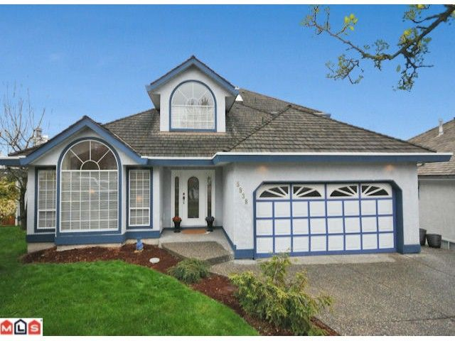 """Main Photo: 5938 190A Street in Surrey: Cloverdale BC House for sale in """"Rosewood Park"""" (Cloverdale)  : MLS®# F1007031"""