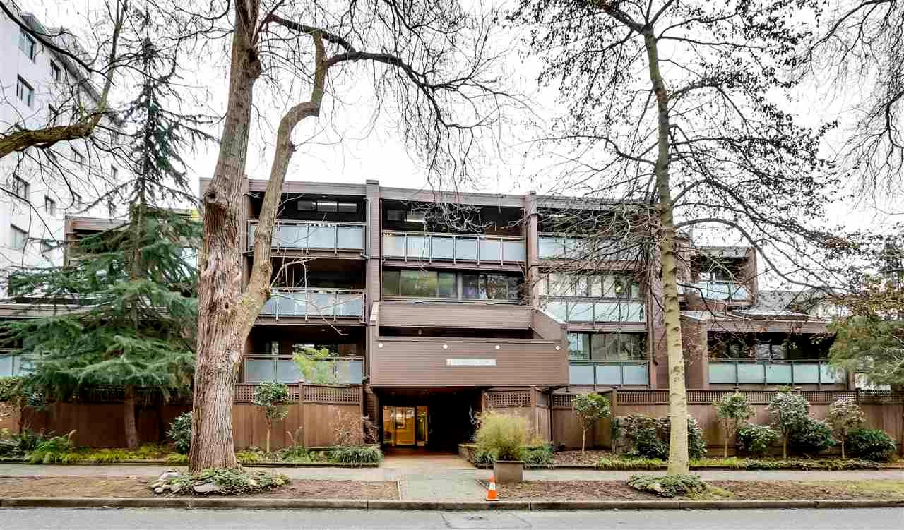 """Main Photo: 211 1855 NELSON Street in Vancouver: West End VW Condo for sale in """"West Park"""" (Vancouver West)  : MLS®# R2583355"""