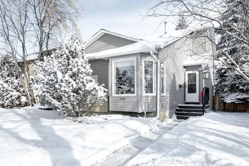 Main Photo: 216 Hawkwood Boulevard NW in Calgary: Hawkwood Detached for sale : MLS®# A1069201