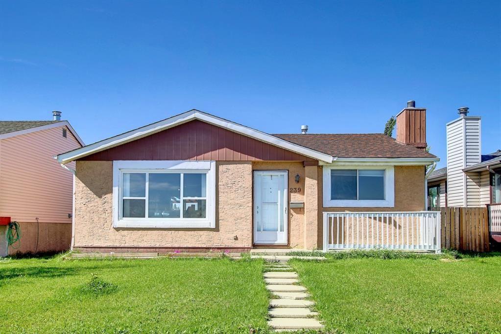 Main Photo: 239 Falwood Way NE in Calgary: Falconridge Detached for sale : MLS®# A1147822