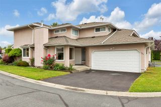 """Photo 1: 137 15501 89A Avenue in Surrey: Fleetwood Tynehead Townhouse for sale in """"AVONDALE"""" : MLS®# R2592854"""