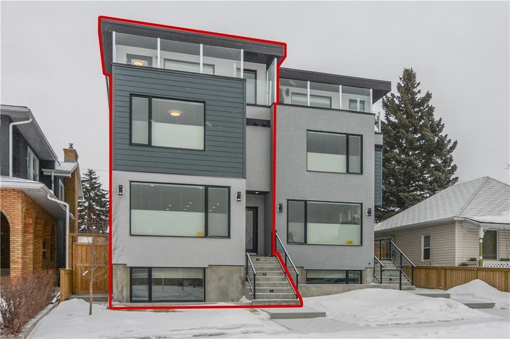 Main Photo: 6a BRIDGELAND: House for sale : MLS®# C4178098