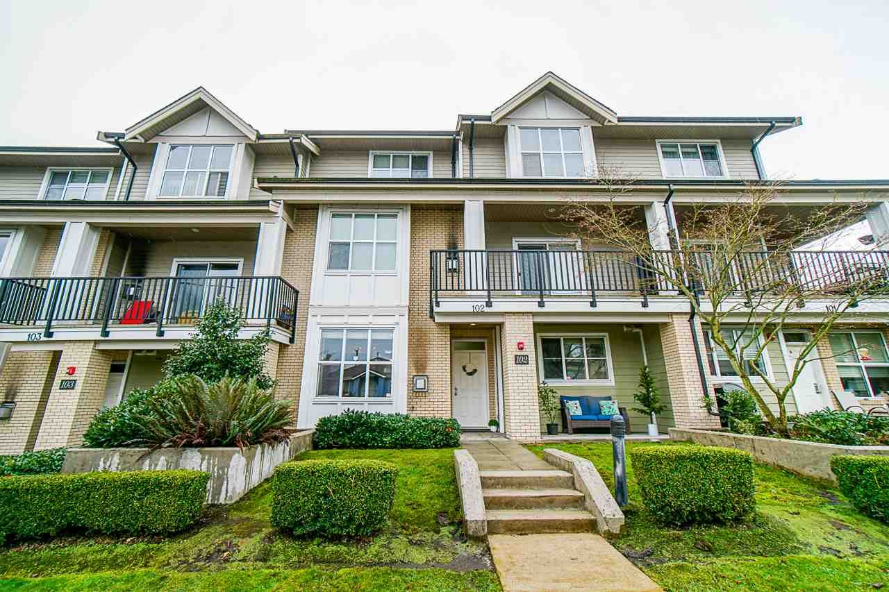 "Main Photo: 102 3788 NORFOLK Street in Burnaby: Central BN Townhouse for sale in ""PANACASA"" (Burnaby North)  : MLS®# R2533012"