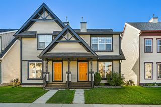 Photo 1: 108 Elgin Meadows View SE in Calgary: McKenzie Towne Semi Detached for sale : MLS®# A1144660