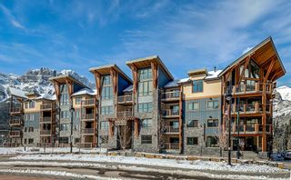 Photo 1: 107 1105 Spring Creek Drive: Canmore Apartment for sale : MLS®# A1104158