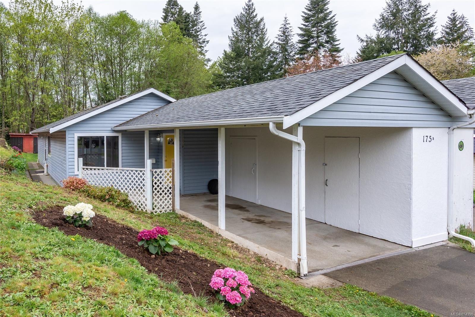 Main Photo: B 175 Willemar Ave in : CV Courtenay City Half Duplex for sale (Comox Valley)  : MLS®# 874398