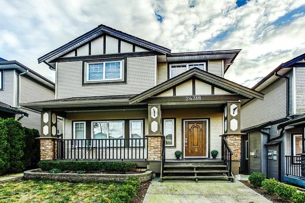 "Main Photo: 24318 102 Avenue in Maple Ridge: Albion House for sale in ""Castle Brook"" : MLS®# R2126861"