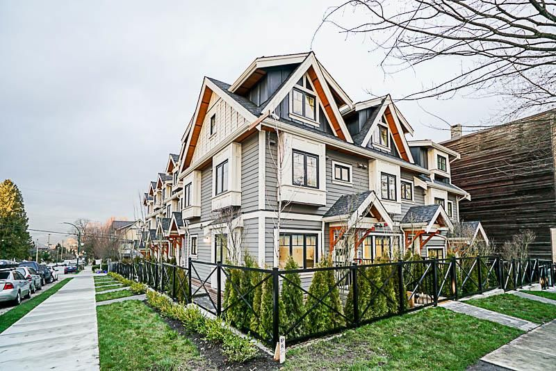 Main Photo: 903 E BROADWAY Street in Vancouver: Mount Pleasant VE Townhouse for sale (Vancouver East)  : MLS®# R2261056