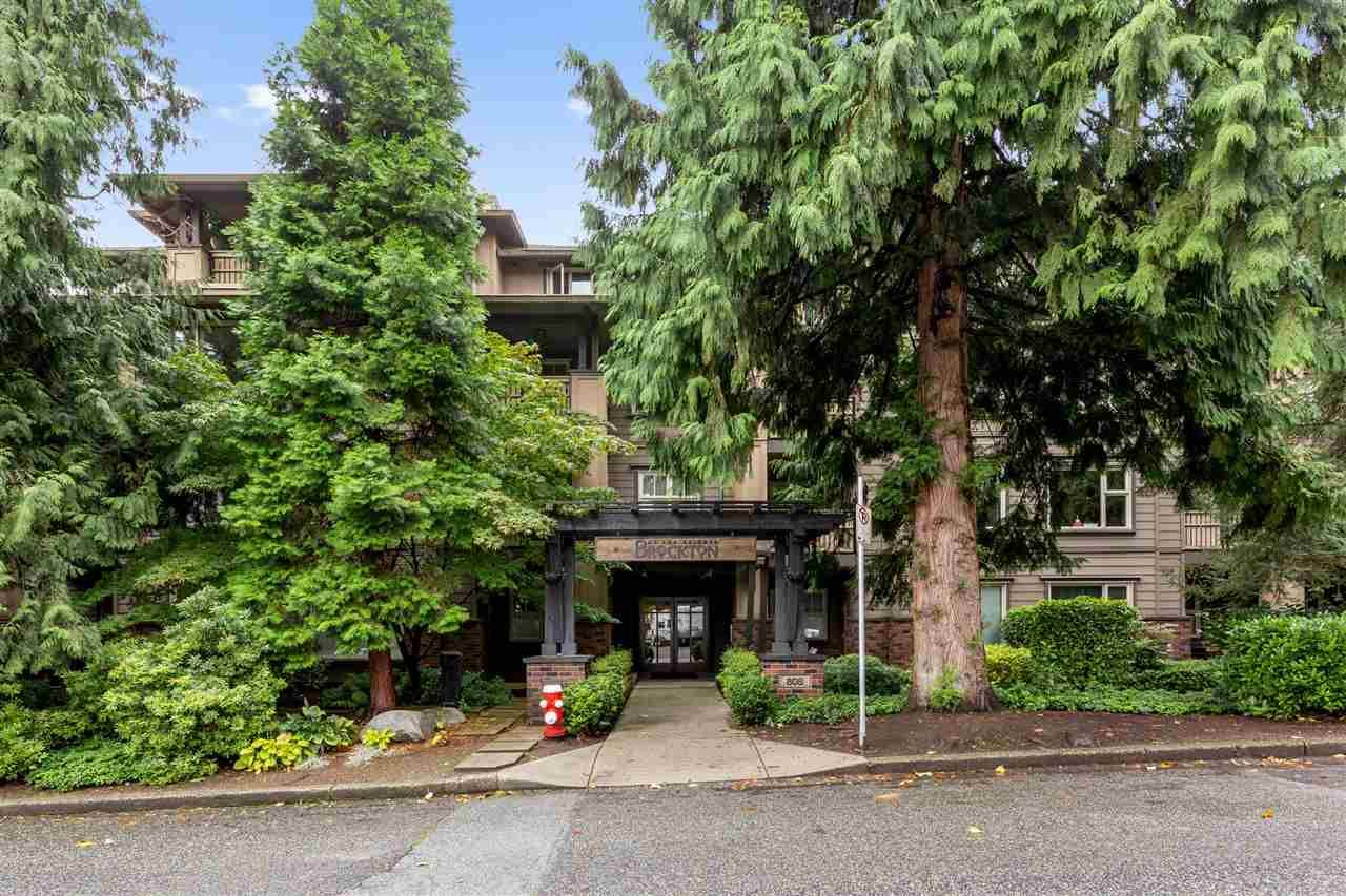 """Main Photo: 107 808 SANGSTER Place in New Westminster: The Heights NW Condo for sale in """"THE BROCKTON"""" : MLS®# R2503348"""