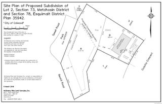 Photo 3: Proposed Lot Sewell Close in : Co Triangle Land for sale (Colwood)  : MLS®# 874316