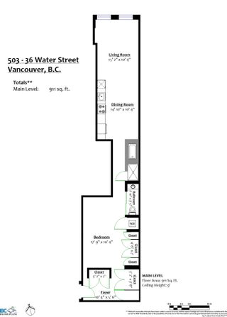 """Photo 18: 503 36 WATER Street in Vancouver: Downtown VW Condo for sale in """"TERMINUS"""" (Vancouver West)  : MLS®# R2545445"""
