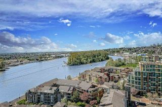 "Photo 1: 2108 10 LAGUNA Court in New Westminster: Quay Condo for sale in ""Laguna Landing"" : MLS®# R2569097"