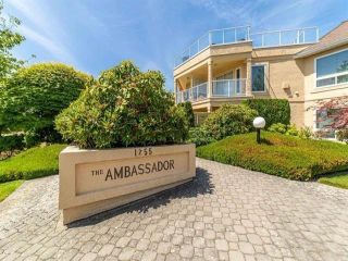"""Photo 1: 204 1255 BEST Street: White Rock Condo for sale in """"The Ambassador"""" (South Surrey White Rock)  : MLS®# R2624567"""