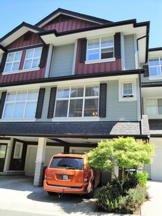 """Photo 1: 66 18199 70 Avenue in Surrey: Cloverdale BC Townhouse for sale in """"Augusta"""" (Cloverdale)  : MLS®# R2068016"""