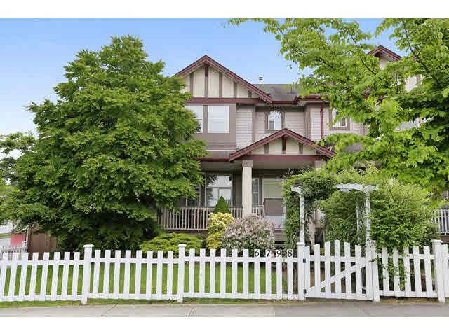 "Main Photo: 6798 184 Street in Surrey: Cloverdale BC 1/2 Duplex for sale in ""HEARTLAND"" (Cloverdale)  : MLS®# F1440702"