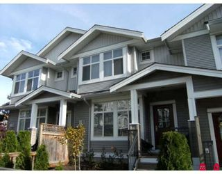 "Photo 1: 81 20449 66TH Avenue in Langley: Willoughby Heights Townhouse for sale in ""Nature's Landing"" : MLS®# F2900216"