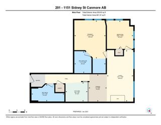 Photo 22: 201 Rot.F 1151 Sidney Street: Canmore Apartment for sale : MLS®# A1131292