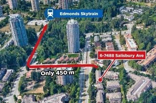 Photo 32: 6 7488 SALISBURY Avenue in Burnaby: Highgate Townhouse for sale (Burnaby South)  : MLS®# R2569684
