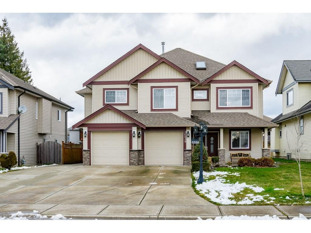 Main Photo: 26839 26 Avenue in Langley: Aldergrove Langley House for sale : MLS®# R2539841